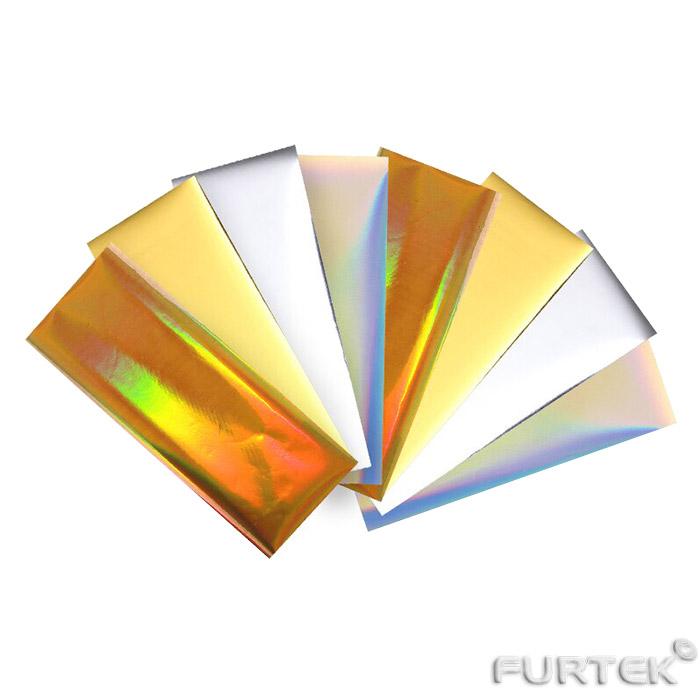 Фольга золотая и серебряная разная