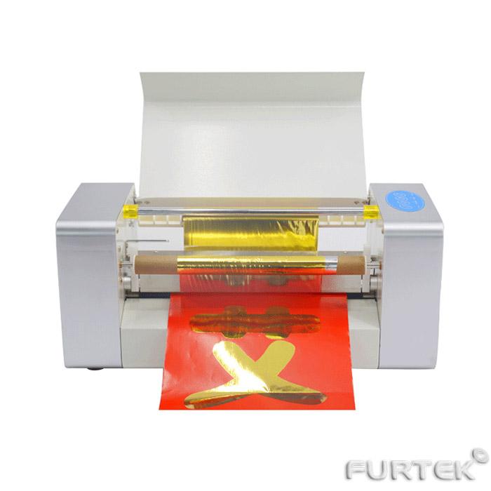 Пример печати золотого цвета в рулонах на принтере