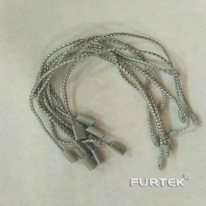 Утолщенный серебрянный держатели для бирок фото