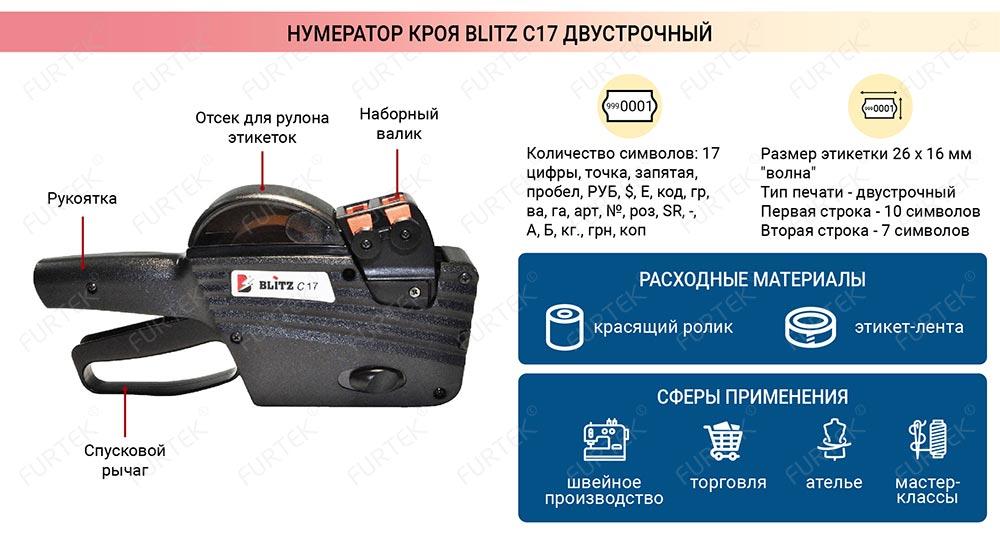 Общая характеристика Blitz C17