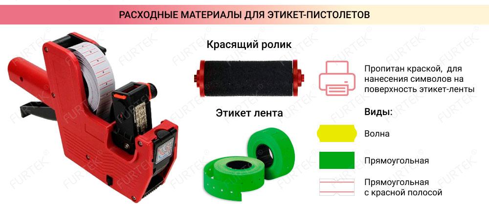 Расходные материалы для этикет-пистолетов