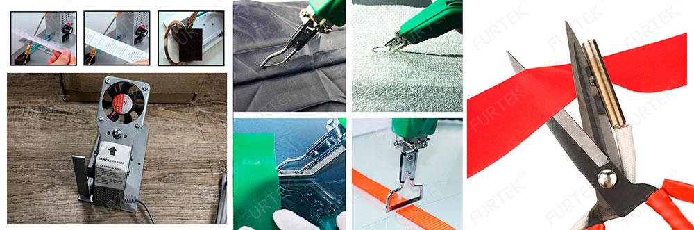 Использование горячих ножей, терморезчиков в швейной промышленности.