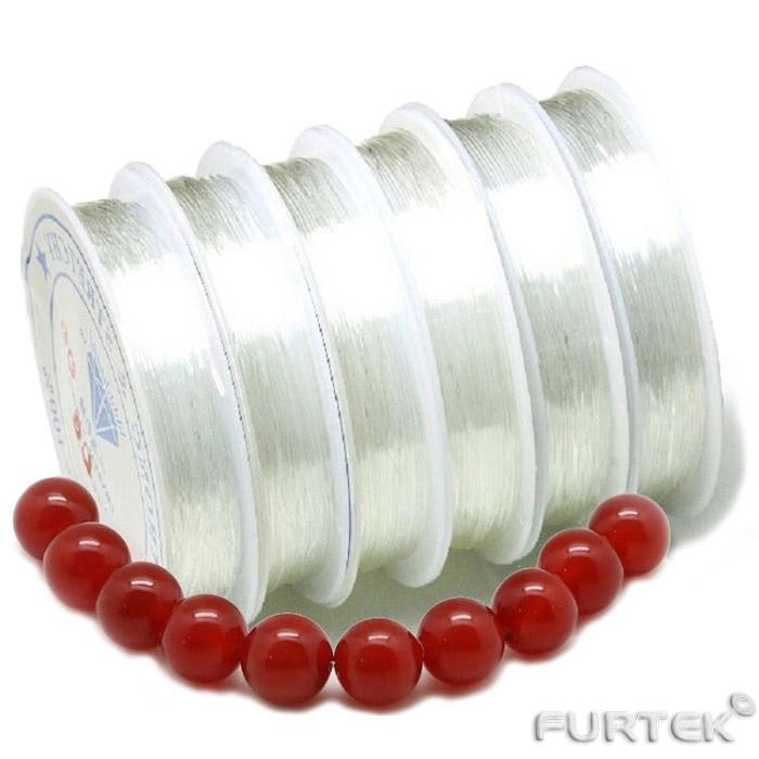 Нить - резина прозрачная с браслетом