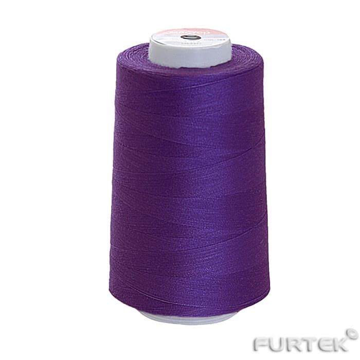 Швейные нитки промышленной намотки фиолетовые