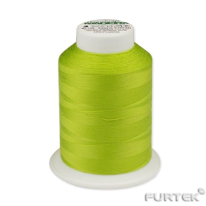 Текстильные нитки салатовые