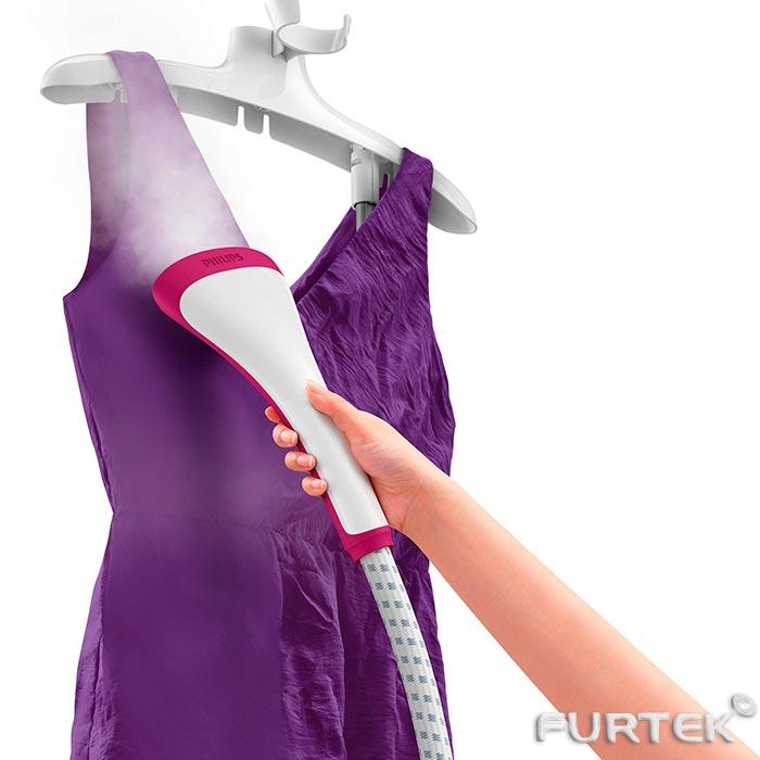 процесс отпаривания рубашки