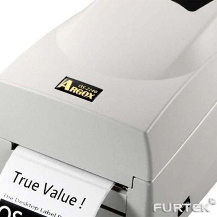 Argox OS-2140 термотрансферный принтер белого цвета
