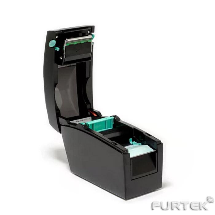 Принтер Godex DT-2x с открытой крышкой