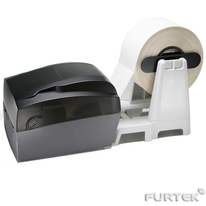 Печать на термотрансферном принтере Godex G300 на термотрансферных этикетках
