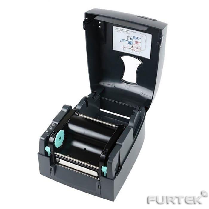 Термотрансферный принтер Godex G500 внутренности