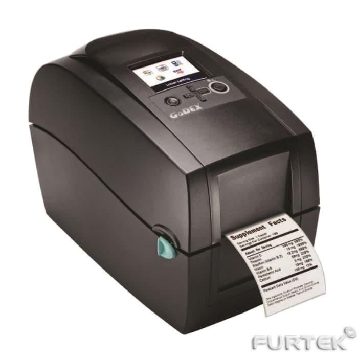 Термотрансферный принтер Godex RT200 печать этикеток