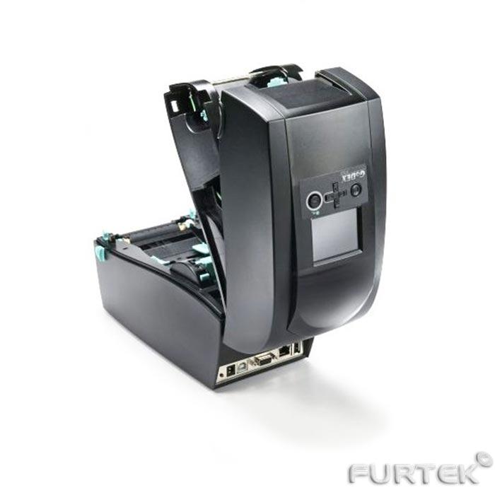 Термотрансферный принтер Godex RT700 вид сзади