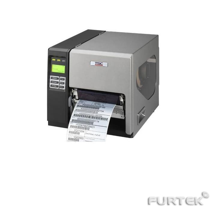 Термотрансферный принтер TSC ME240 с напечатанной этикеткой