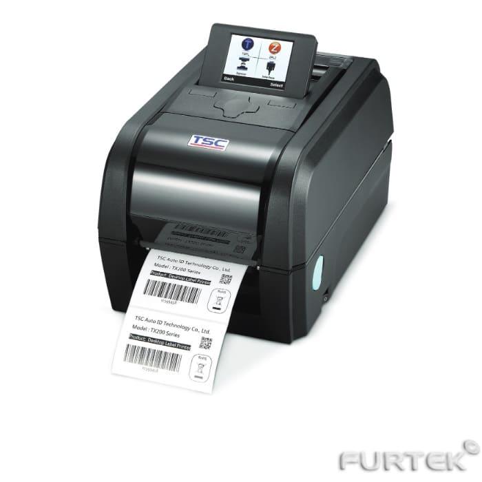 Термотрансферный принтер TSC TC210 с LCD черный
