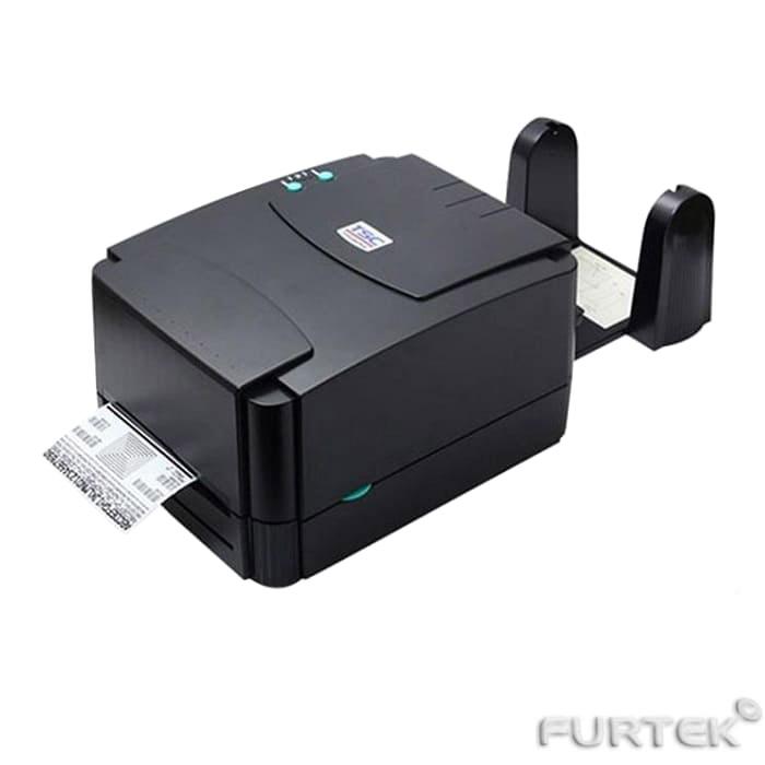 Печать термотрансферных этикеток на термотрансферном принтере TSC TTP-244 PRO