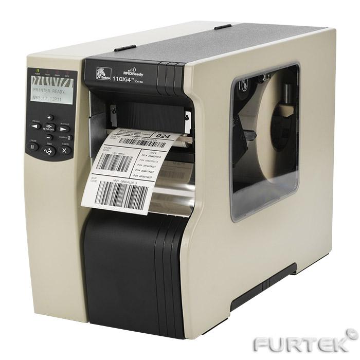 Печать на термотрансферном принтере Zebra 110Xi4