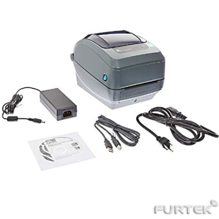 Принтер Zebra GK-420t комплект поставки