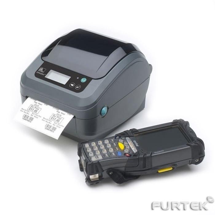 Термотрансферный принтер этикеток Zebra GX420t с терминалом сбора данных (ТСД)