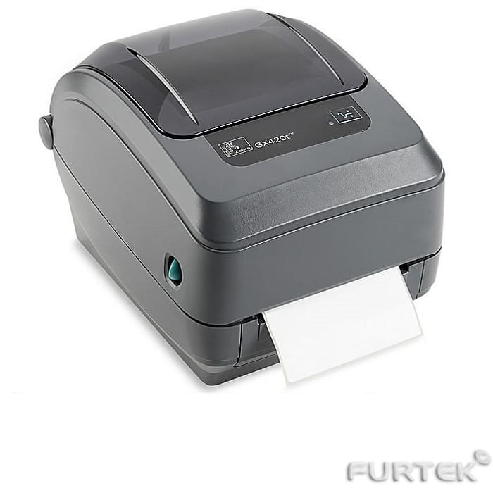 Печать на термотрансферном принтере этикеток Zebra GX420t