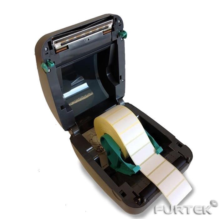 Термотрансферный принтер этикеток Zebra GX420t с термотрансферной лентой