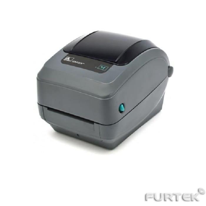 Термотрансферный принтер Zebra GX430t серый