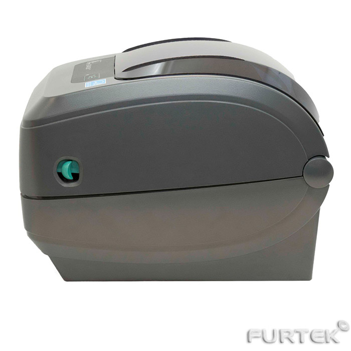 Термотрансферный принтер Zebra GX430t вид сбоку