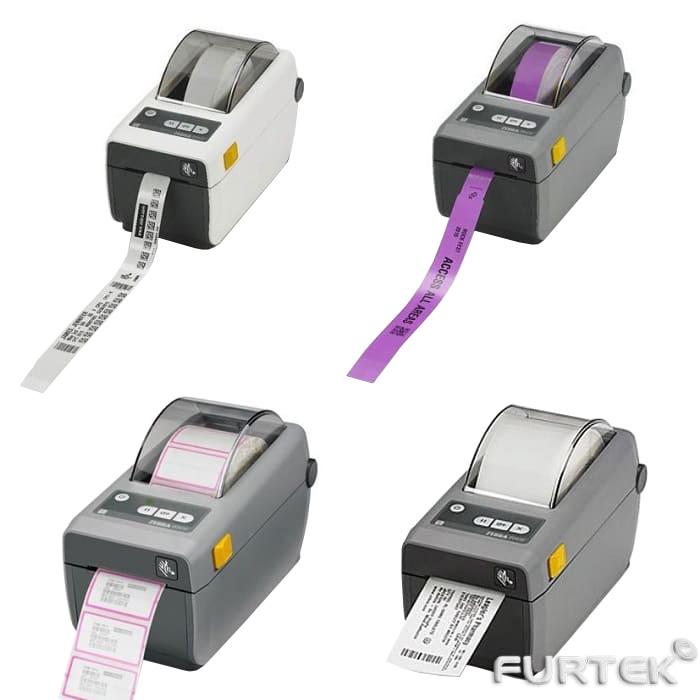 Термопринтер этикеток Zebra ZD410 различных цветов