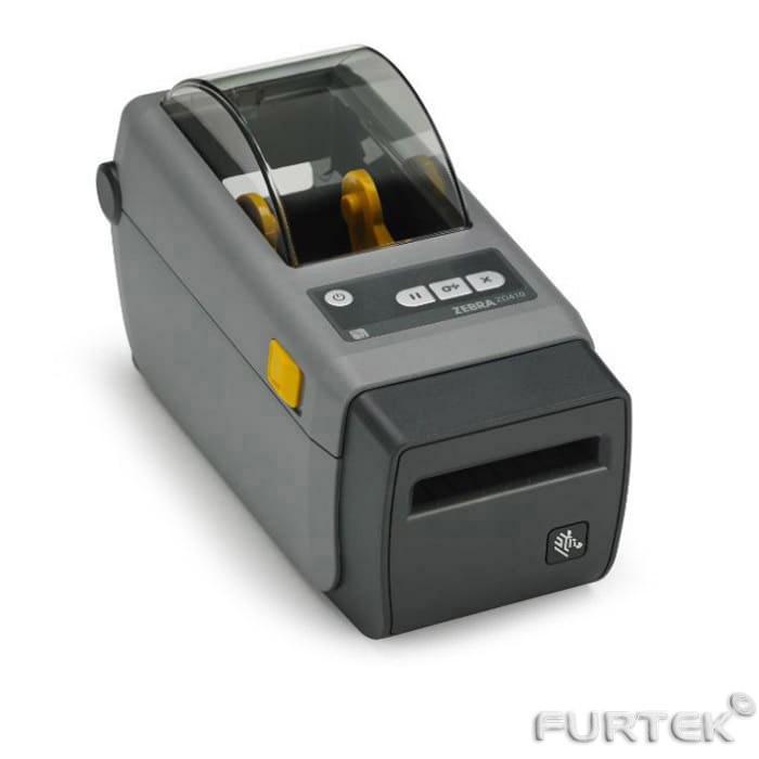 Термопринтер этикеток Zebra ZD410 серый