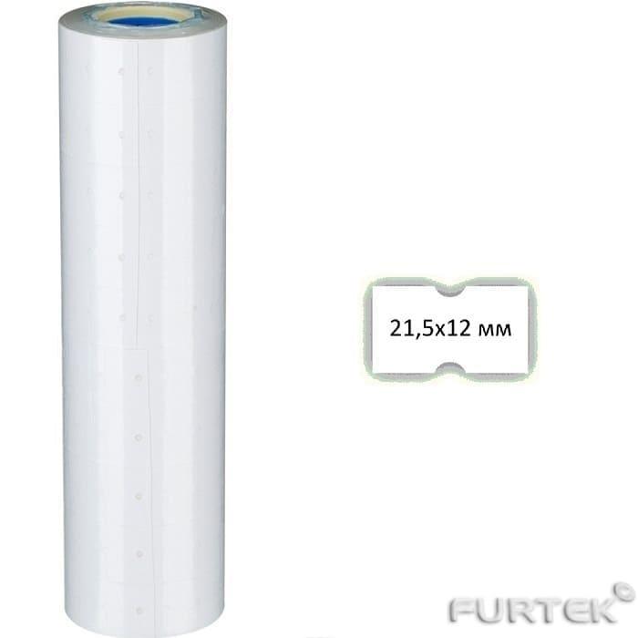 Этикетки прямоугольные размером 21,5х12 мм