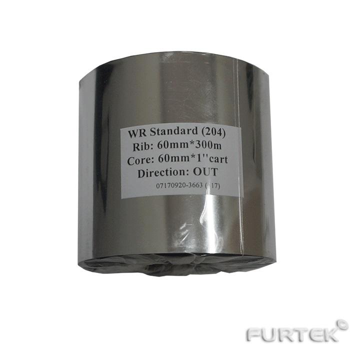 Термотрансферный риббон 300м х 60мм для картона