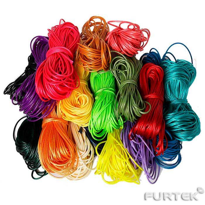 Шнуры атласные разных цветов