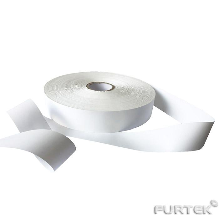 Нейлоновая лента для ярлыков белого цвета