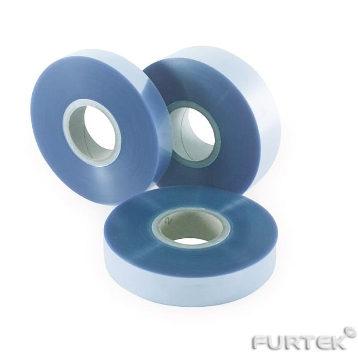 Ацетатная лента голубая в рулонах