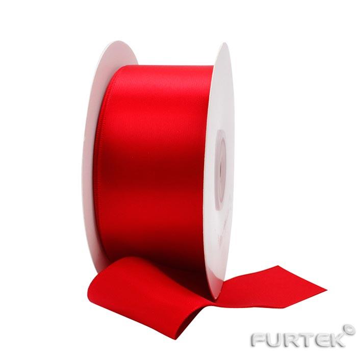 Красная лента премиум класса шириной 38 мм и длиной 100 м в рулоне