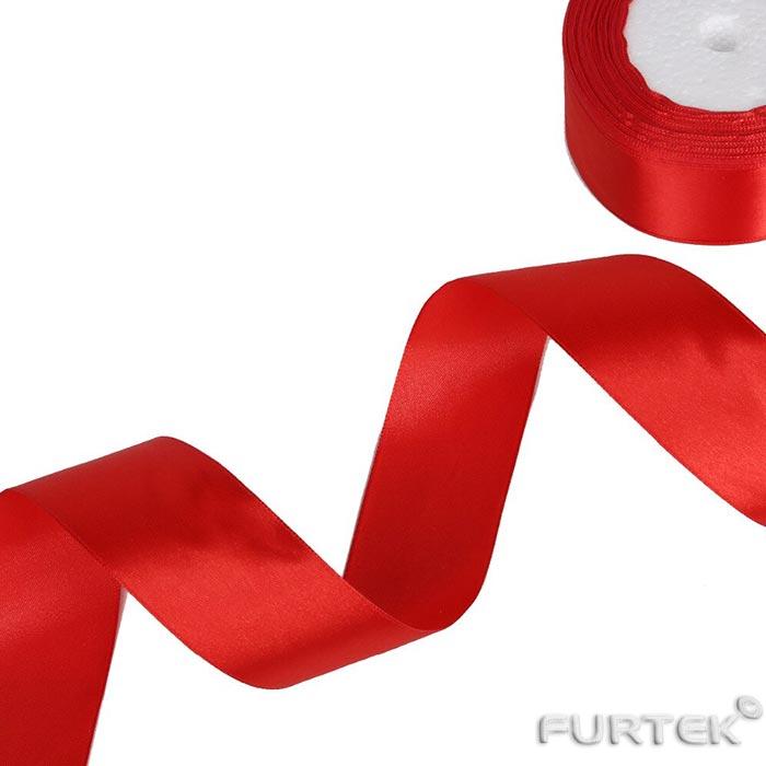 Красная лента премиум класса шириной 38 мм