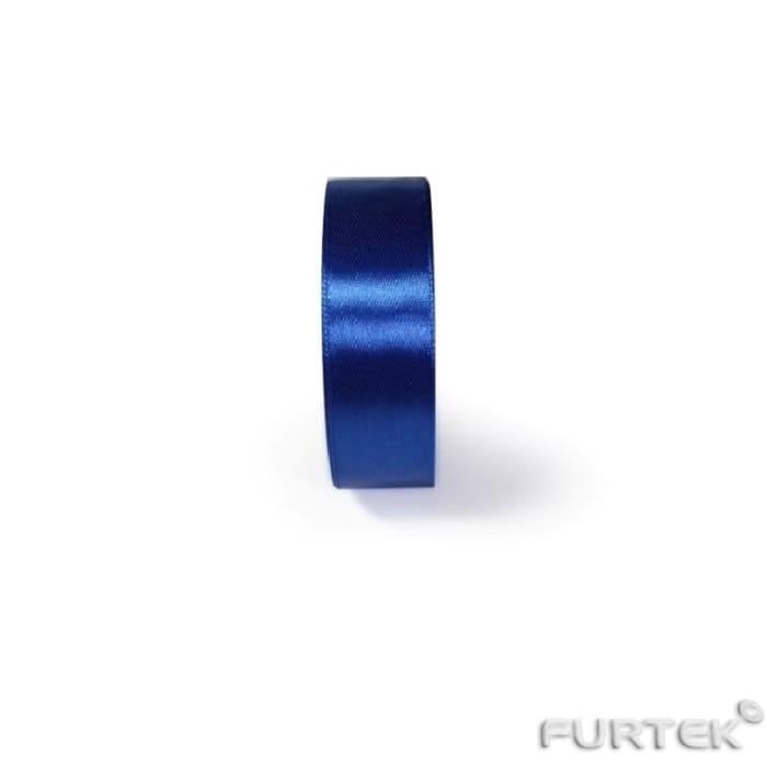 Темно-синяя атласная лента премиум класса 100 м,  шириной 50 мм