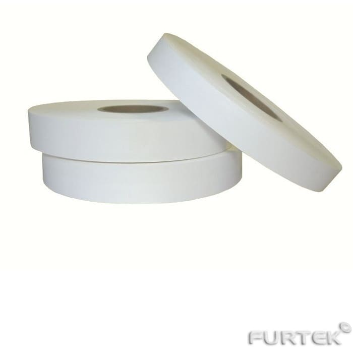 Термоклеевая лента белого цвета марки HS701 в рулонах длиной по 100 и 183 м