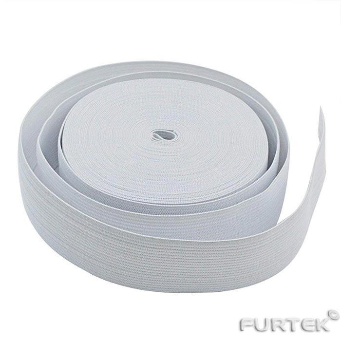 Тесьма эластичная белая для матраса