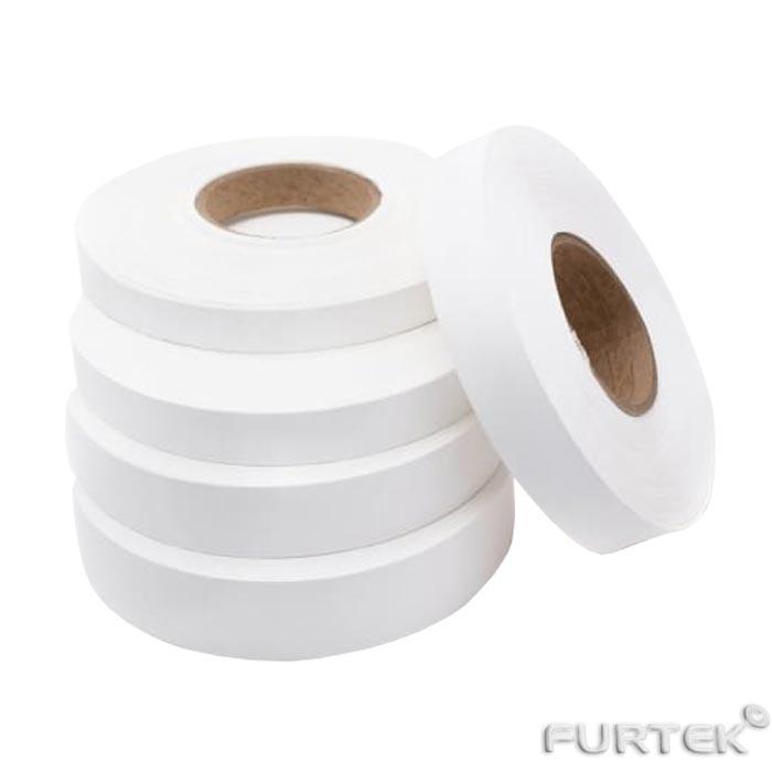 Нейлоновая лента универсальная в рулоне белого цвета 100 м
