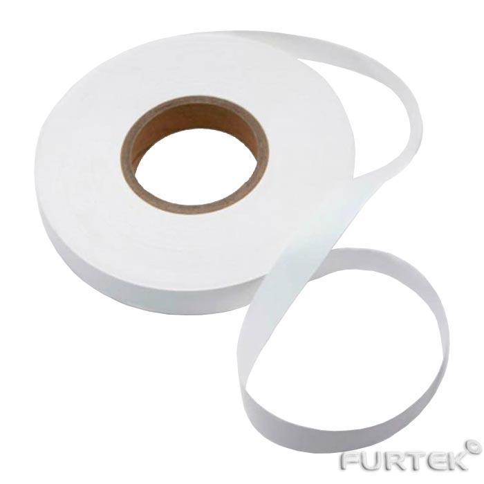Нейлоновая белая лента экономкласса в рулоне 100 м