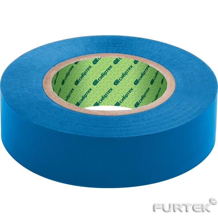 Синяя прорезиненная нейлоновая  лента  шириной 45 мм от производителя Сибртех