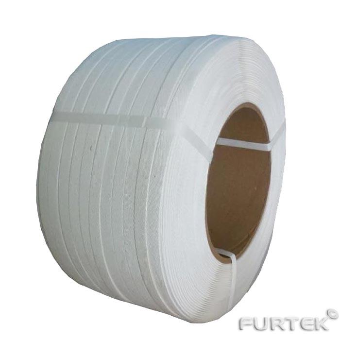 Жесткая лента марки PT722 белого цвета из полиэстра