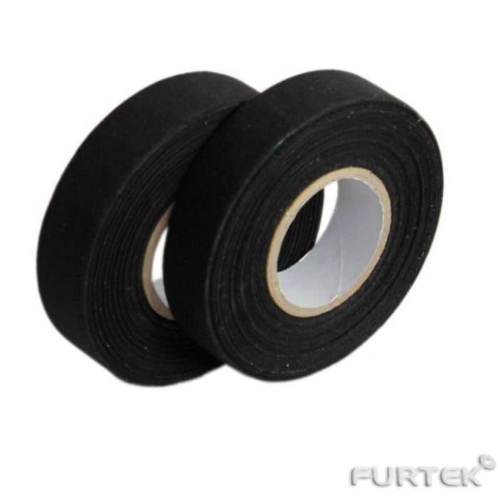 Лента клеевая сатиновая в рулонах 100 м и 200 м черная марки PS-961 N