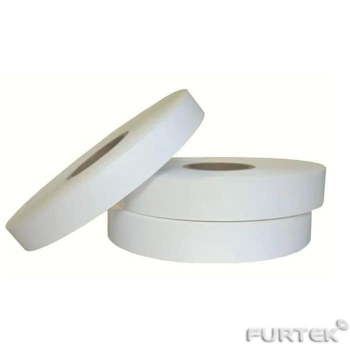 Лента сатиновая белая эконом класса в рулонах по 100 м и 200 м