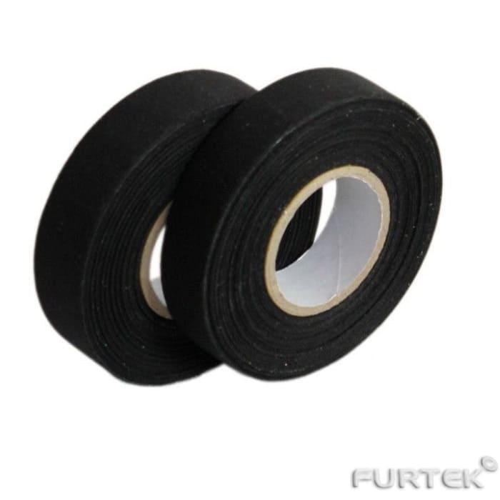 Лента сатиновая клеевая черного цвета в рулонах по 100 и 200 м