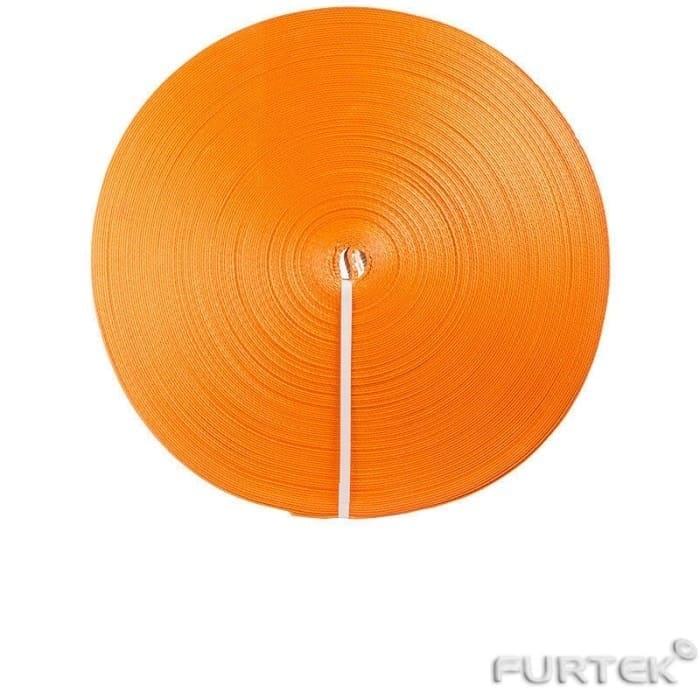 Текстильная лента оранжевая