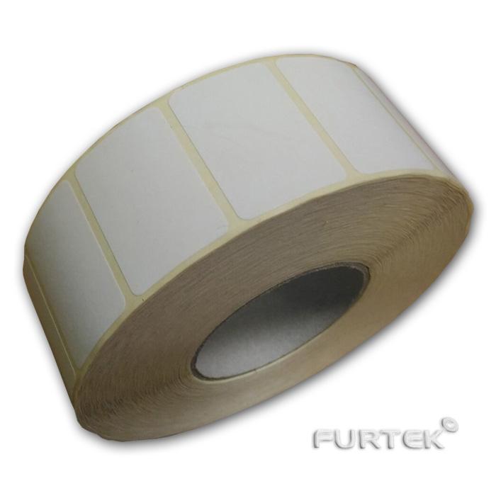 Рулон термоэтикеток без печати фото