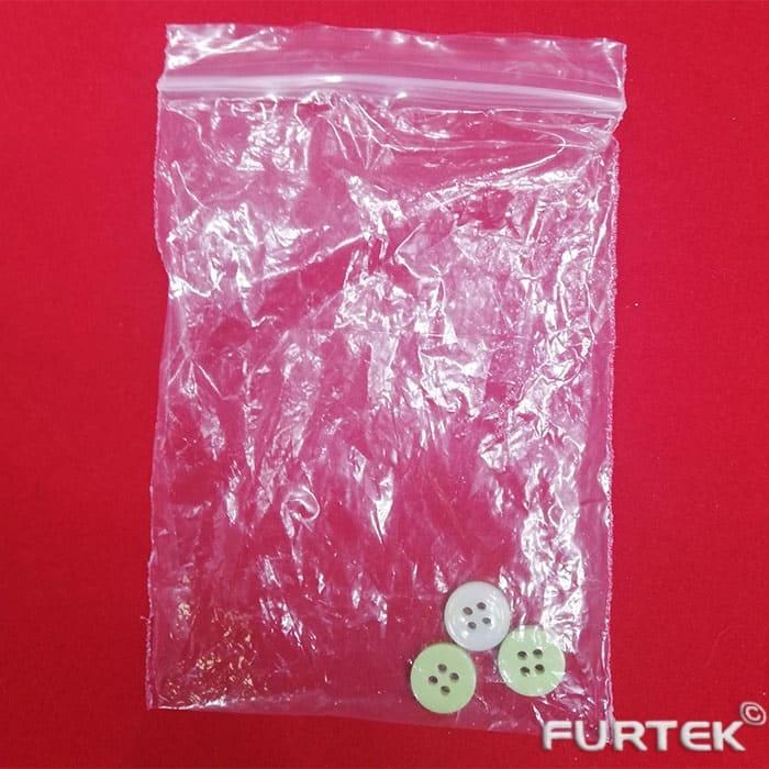 Пакет с пуговицами Zip-Lock прозрачный