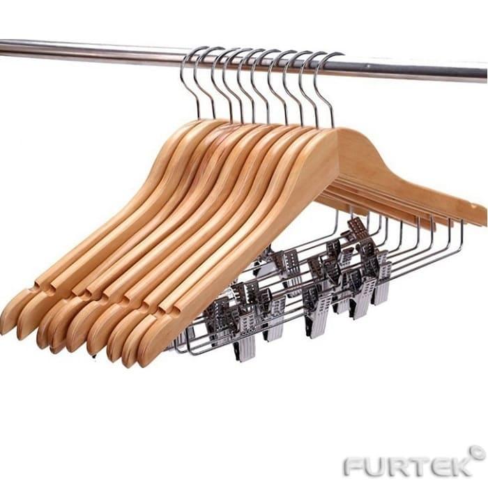 Вешалки для костюмов с металлическими зажимами