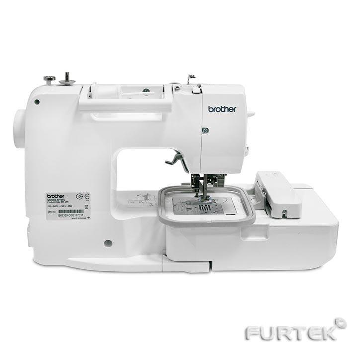 Швейно-вышивальная машинка вид сзади